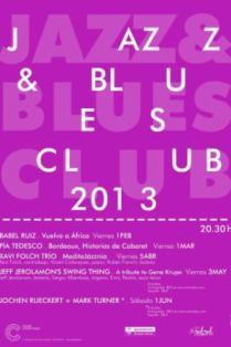 Ciclo Jazz Blues Club en Las Cigarreras, Alicante 2013