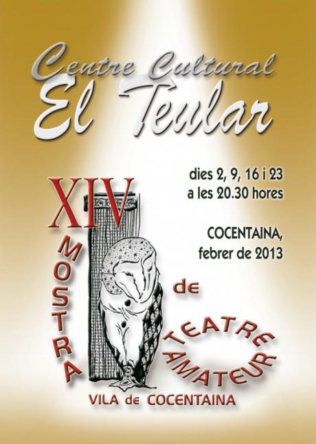 XIV Muestra de Teatro Amateur Vila de Cocentaina