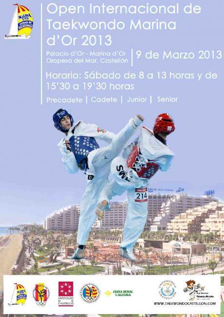 Open Internacional de Taekwondo 2013. Oropesa del Mar