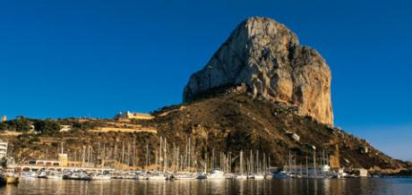 Calpe... a great place to be, even in the winter!