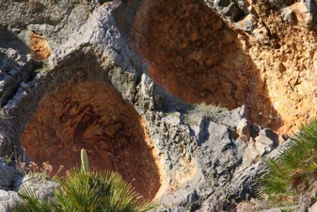 Itinerario temático en Castell de Castells: Petracos, un santuario de hace 8.000 años
