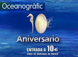 Der Oceanogràfic feiert sein 10-jähriges Bestehen ganz gross