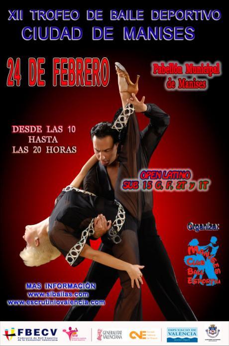 XII Trofeo de Baile Deportivo Ciudad de Manises