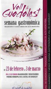 Vall de Guadalest. Semana Gastronómica