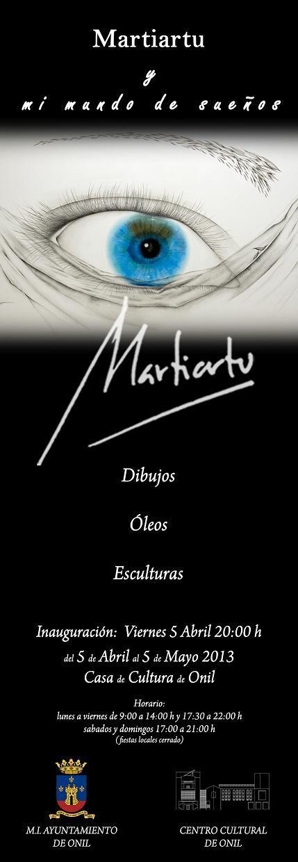 """Exposición: """" Martiartu y mi mundo de sueños"""""""