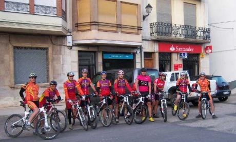 Salida en bicicleta por carretera desde Vilafranca.