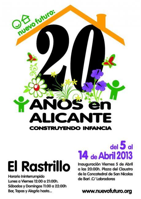 Rastrillo Nuevo Futuro. Alicante 2013.