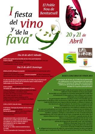 "I Fiesta del vino y de la ""fava"""
