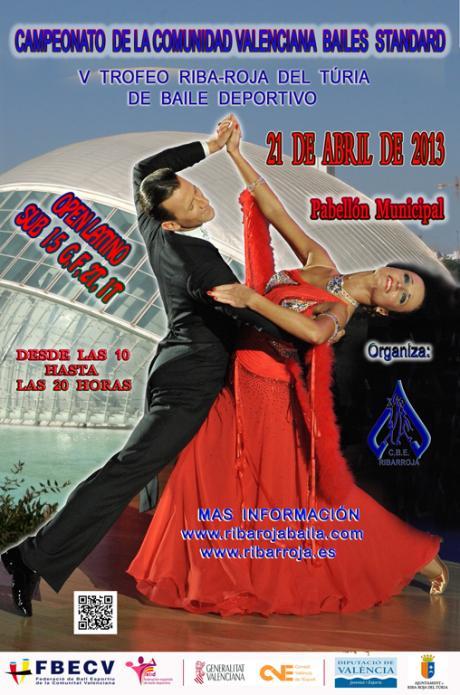 Campeonato Baile deportivo en Riba-roja del Túria