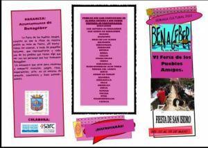 Benagéber lädt zum 6. Fest der befreundeten Völker