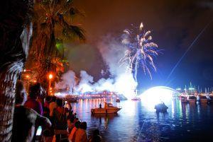 "Experience gunpowder, colour and music at the ""Hogueras de San Juan"""