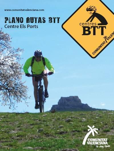 Portada plano Centro BTT Els Ports