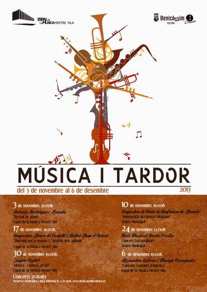 """Ciclo de Música: """"Música i tardor"""""""