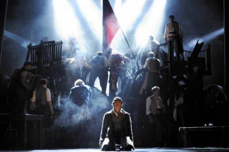 """Palau de les Arts in Valencia, eine würdige Kulisse für das Musical """"Les Miserables"""""""