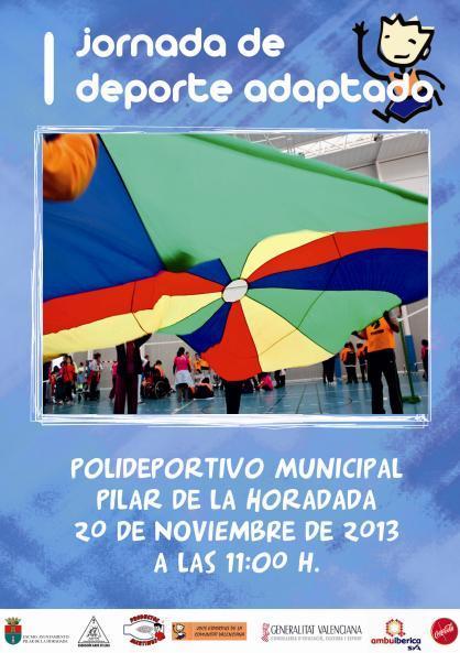Encuentro de Deporte Adaptado de la Zona Sur en Pilar de la Horadada