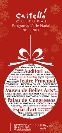 Programación de Navidad de Castelló Cultural