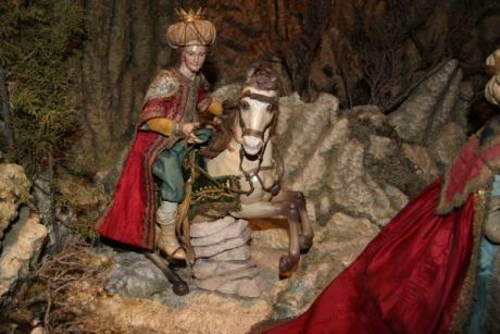 A Nativity Scene in the museum, long live Christmas!