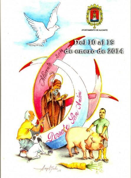 Porrate de San Antón 2014