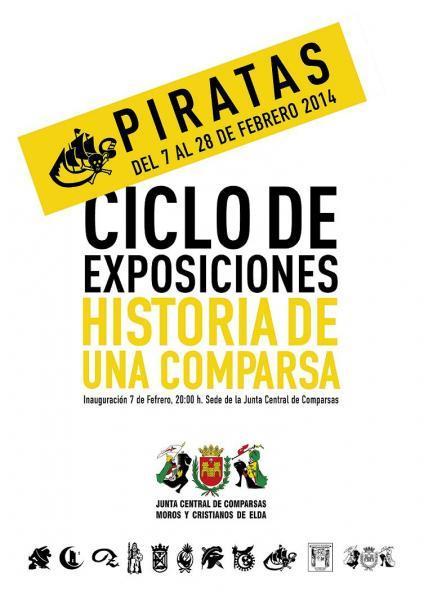 """Ciclo Exposiciones Historia de una Comparsa """"Piratas"""""""