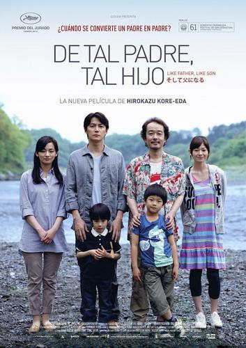 Cine:Soshite chichi ni naru (De tal padre, tal hijo) V.O.japonés.S.castellano