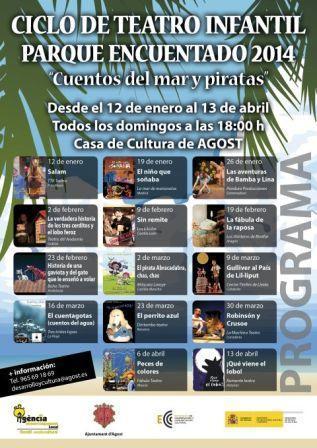 """Ciclo de Teatro Infantil """"Parque Encuentado 2014"""" Cuentos del Mar y Piratas"""