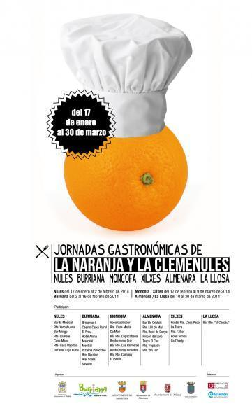 JORNADAS GASTRONÓMICAS DE LA NARANJA Y LA CLEMENULES