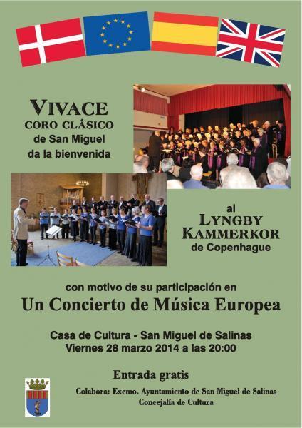 Concierto de Música Europea 2014