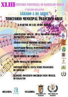 XLIII Certamen Provincial de Música de Bigastro