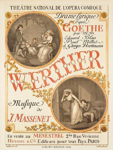 """Opera in cinema in Benissa: """"Werther"""""""