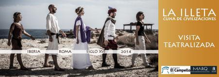 Visitas Teatralizadas en El Campello 'La Illeta, cuna de civilizaciones'