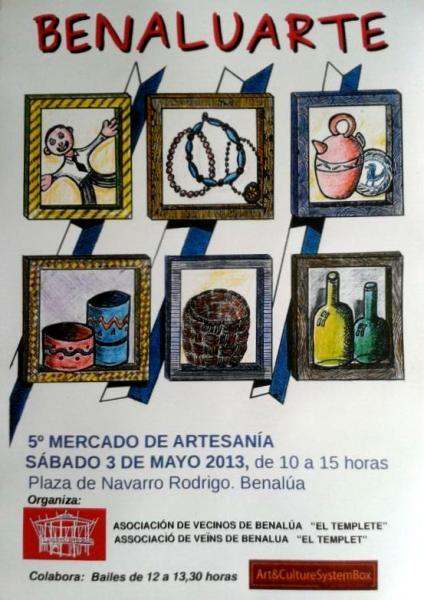 5ª muestra y mercado de artesanía: BenaluArte 2014
