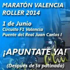 MARATÓN VALENCIA ROLLER 2014