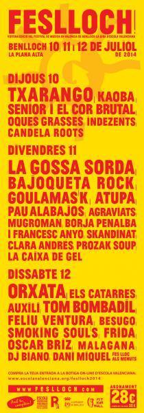 Festival de Música Valenciana de Benlloch