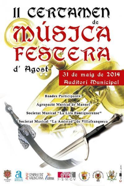 II Certamen de Música Festera de Agost