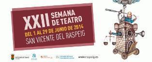 XXII Semana del Teatro de San Vicente del Raspeig 2014
