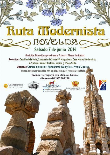 Ruta Modernista por Novelda