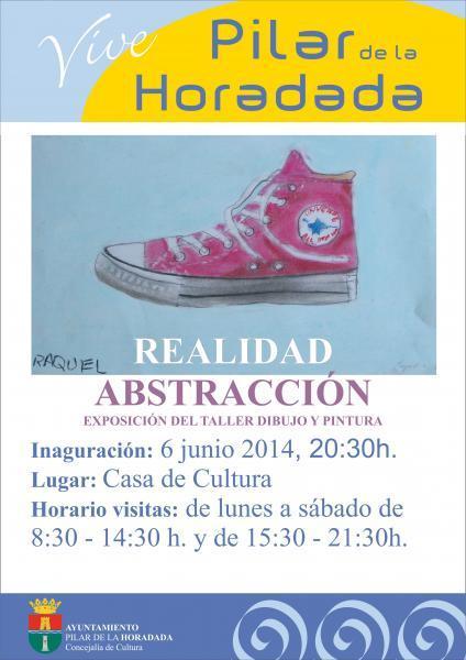 Exposición de dibujo y pintura: Realidad-Abstracción en Pilar de la Horadada