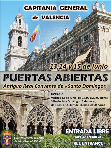Jornadas de puertas abiertas al Convento de Santo Domingo de Valencia