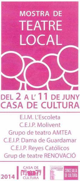 Programación cultural junio 2014 Guardamar del Segura