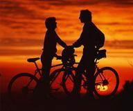 Excursión nocturna en bicicleta