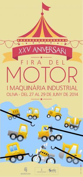 XXV Feria del Motor y Maquinaria Industrial Oliva 2014