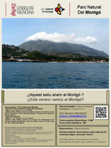 ¡¡Este verano vamos al Montgó!!