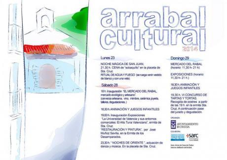 Arrabal Cultural - Mercado Artesanal y Ecológico CHELVA 2014