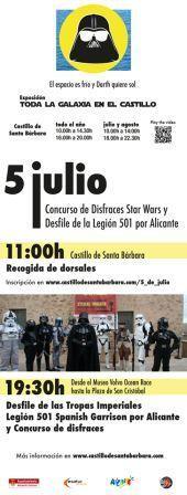 Desfile de la Legión 501st - Spanish Garrison 2014