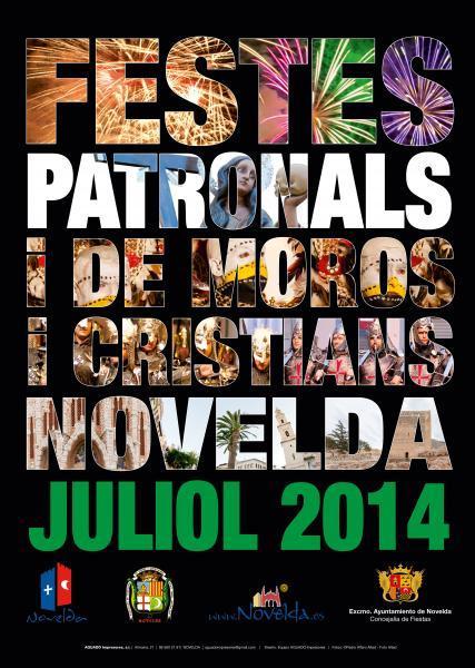 Fiestas Patronales y de Moros y Cristianos Novelda 2014