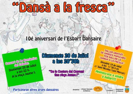 Free traditional dance workshop in Benissa