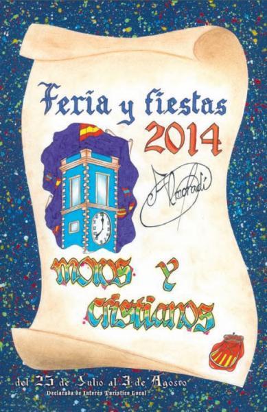 Feria y Fiestas de Moros y Cristianos Almoradí 2014