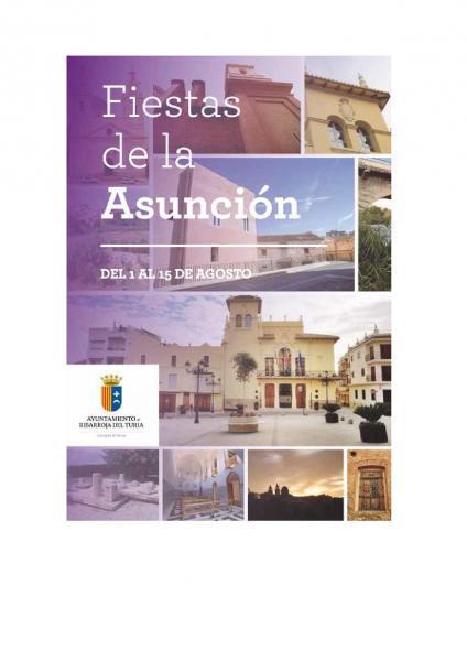 Programa de fiestas de la Asunción de Nuestra Señora 2014