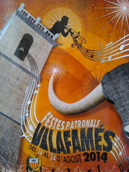 Fiestas Patronales Vilafamés 2014.