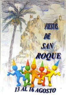 Fiestas tradicionales del barrio de San Roque de Alicante 2014